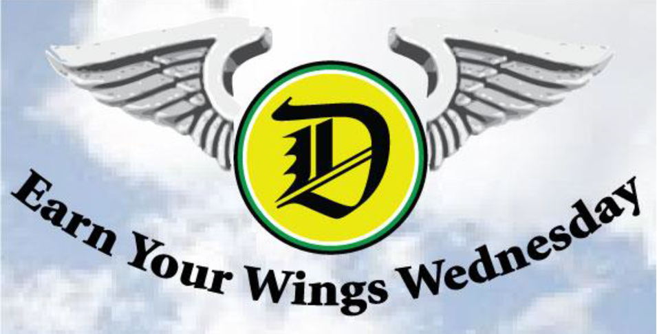 It's Earn Your Wings Wednesday!