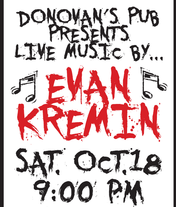 Live Music by Evan Kremin