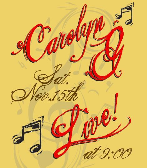 Live Music by Carolyn G
